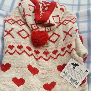 Nwt dog sweater medium